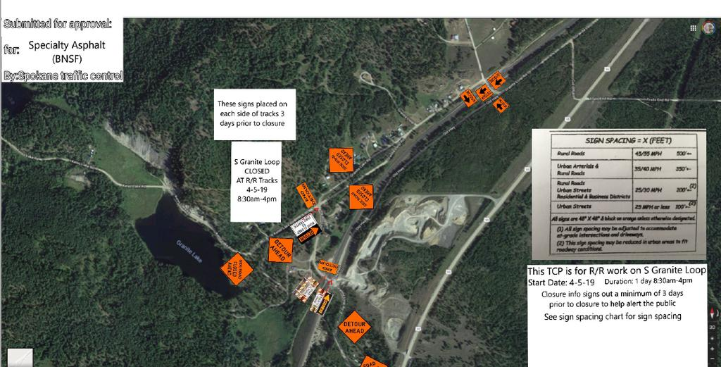 BNSF TRAFFIC CONTROL PLAN GRANITE LOOP CROSSING CLOSURE FOR MAINTENANCE.PNG