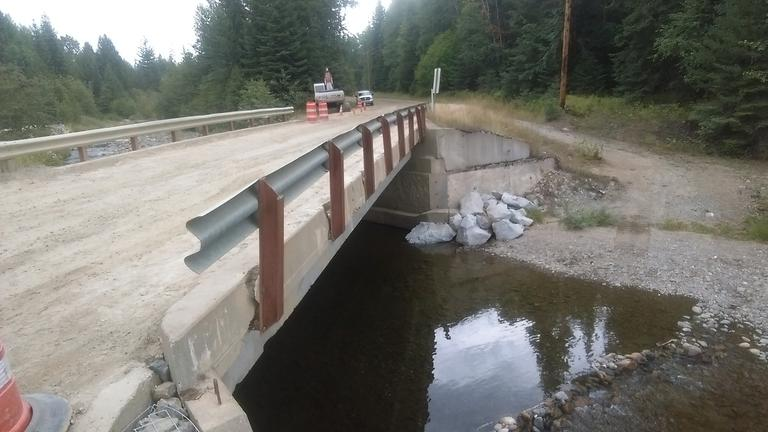 Bridge rail to be replaced and beams to be repaired.jpg